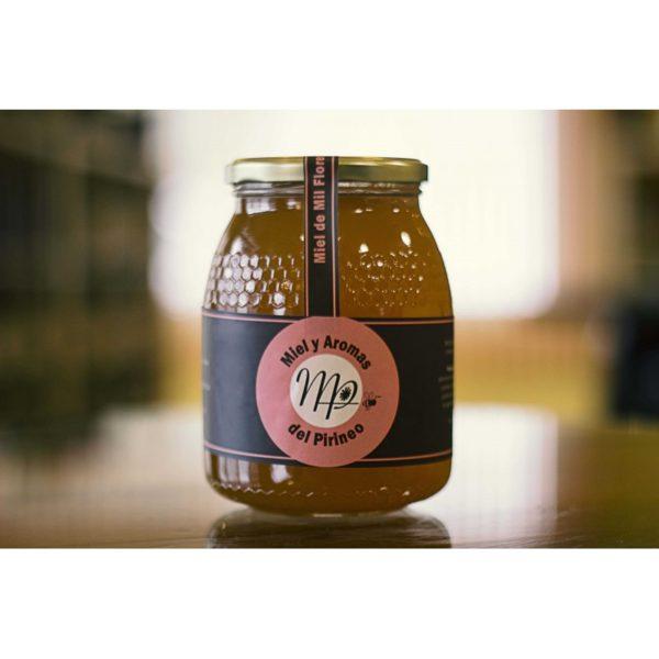 Miel de Mil Flores 1 Kg, Miel y Aromas del Pirineo