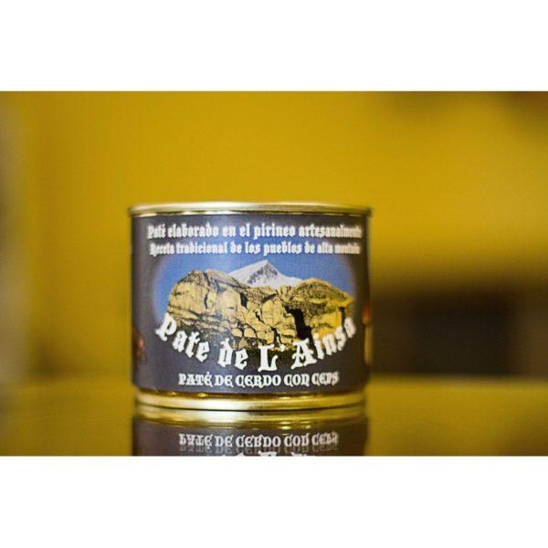 Paté de cerdo con ceps, Paté de L'Ainsa