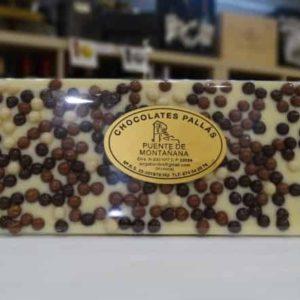 Chocolate blanco tricolor (Chocolates Pallás)
