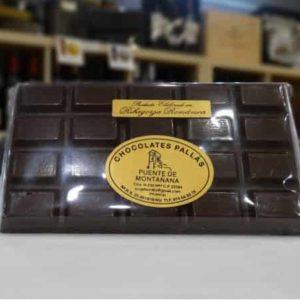 Chocolate negro tableta pequeña (Chocolates Pallás)