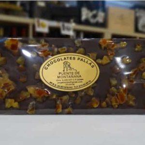 Chocolate negro con naranja (Chocolates Pallás)