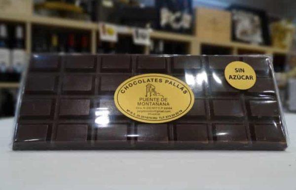 Chocolate SIN azúcar (Chocolates Pallás)