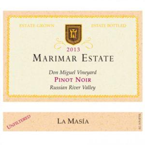Marimar Estate Don Miguel Vineyard Pinot Noir 2013